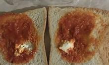 Скандална наредба: 2,4 г сирене и 40 г лютеница в ученическия сандвич