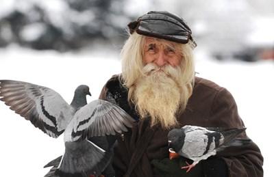 Дядо Добри почина на 103 г. СНИМКА: Йордан Симeонов
