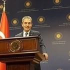 Говорителят на турското външно министерство Хами Аксой СНИМКА: Ройтерс