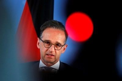 Външният министър на Германия Хайко Маас СНИМКА: Ройтерс