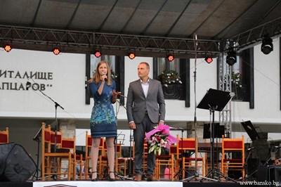 Кметът Георги Икономов откри оперния фестивал.