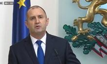 Радев се обяви за бариера срещу лобисткото законодателство (На живо)