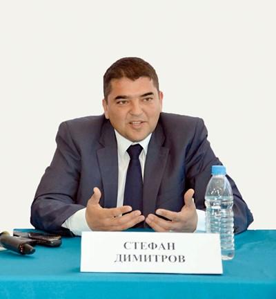 Стефан Димитров е председател на КРИБ - Хасково.
