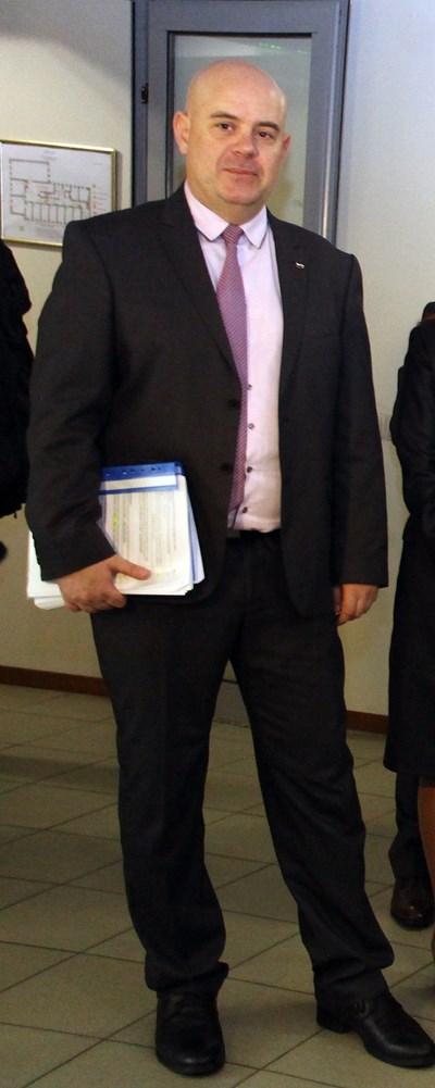 Иван Гешев - зам. главен прокурор при ВКП и кандидат за главен прокурор СНИМКА: Румяна Тонeва
