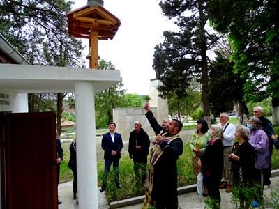 Камбаната в Коевци е дарена от местна жителка