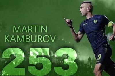 Камбуров: Синът ми беше за първи път на на мой мач и изравних рекорда, донесе ми късмет