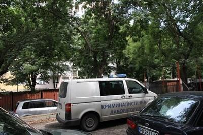 Мястото на инцидента СНИМКА: Анелия Иванова