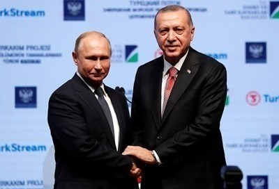 Владимир Путин и Реджеп Тайип Ердоган. СНИМКА: Ройтерс