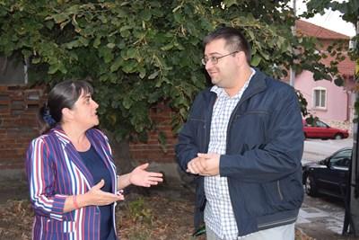 Общинската съветничка Катя Георгиева обсъди проблемите на болницата в Ямбол с д-р Райно Георгиев