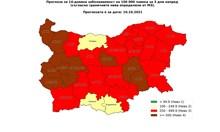 Проф. Николай Витанов: Оформя се вторичен пик на COVID вълната и висока смъртност (Карти)