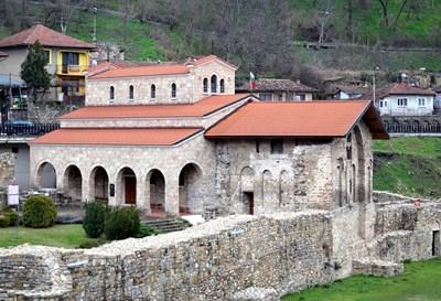 """Гостите ще посетят храма """"Св.40 мъченици"""", където е бил погребан св.Сава Сръбски СНИМКА: Община Велико Търново"""