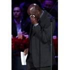 Великият Майкъл Джордан не успя да спре сълзите си. Снимки РОЙТЕРС