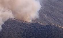 Голям горски пожар край Лос Анджелис, евакуираха около 500 къщи (Видео)