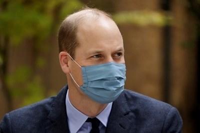 Британският принц Уилям призова всички британции да се ваксинират