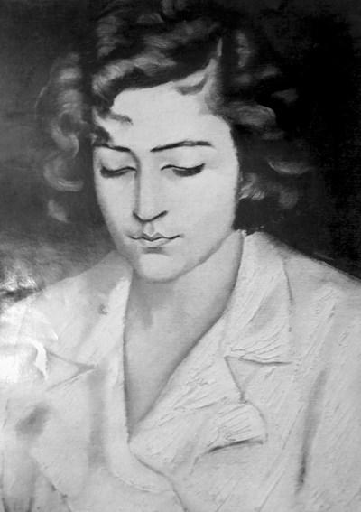 """""""Портрет на Вера"""" - една от картините на Майстора"""