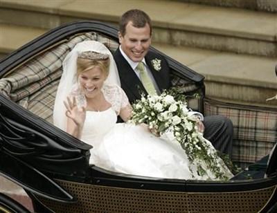 Кадър от сватбата на Питър и Отъм през 2008-а Снимка: Ройтерс