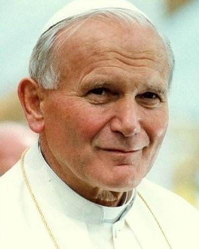 """При посещение в Сицилия три години след убийството на Ливатино папа Йоан Павел Втори (на снимката) го нарече """"мъченик на справедливостта"""". Снимка Архив"""
