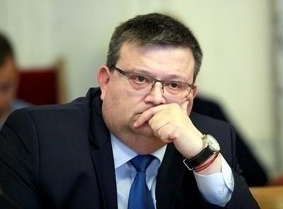 Главният прокурор Сотир Цацаров  СНИМКА: Архив