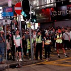 Протестиращи в Хонконг СНИМКА: Ройтерс