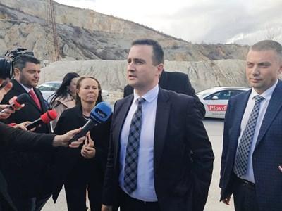 Зам.-министърът на енергетиката дойде в Белащица.