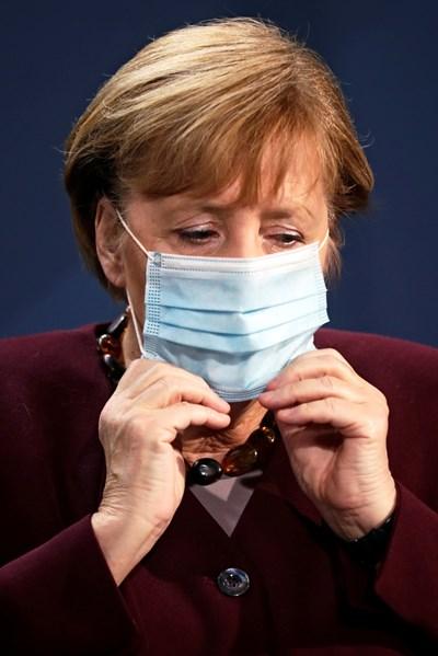 Канцлерът на Германия Ангела Меркел