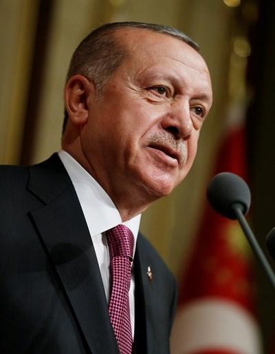 Tурският президент Реджеп Ердоган  СНИМКА: Ройтерс