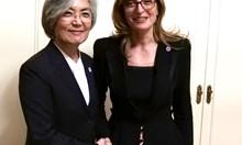 Захариева: Считаме Република Корея за приоритетен партньор в Азия