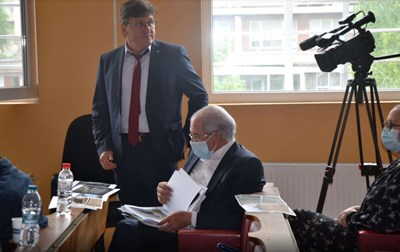 Лютви Местан на едно от предишните заседания по делото срещу него Снимка: Авторът
