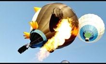 Инциденти с балони с горещ въздух