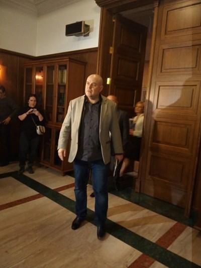 Иван Гешев отива на работната среща с кметовете на кметства.