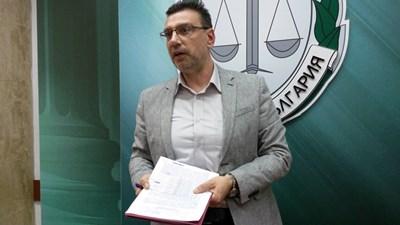 Прокурор Георги Чинев. Снимки и видео:Елена Фотева