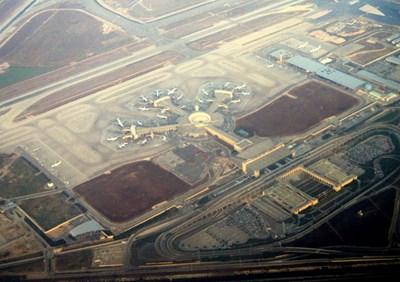 """Международното летище """"Бен Гурион"""" Снимка: Уикипедия"""