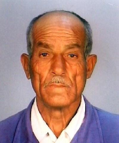 78-годишният Юзеир Раимов Хасанов Снимка: ОДМВР Добрич