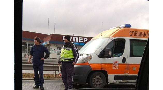 Инцидент със загинал пешеходец в Бугас
