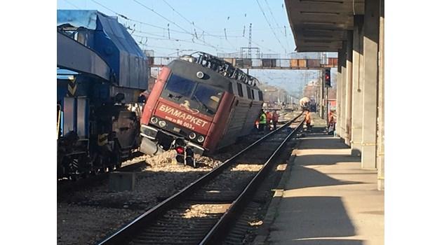 Влак на фирмата, чиято композиция се взриви в Хитрино, едва не запали и Пловдив (Обзор)