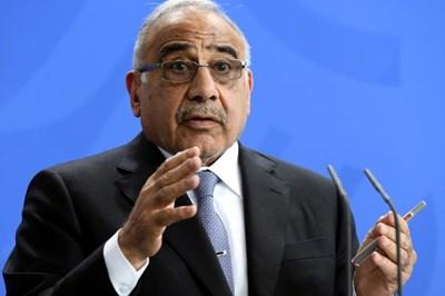 Иракският премиер Адел Абдел Махди СНИМКА: Ройтерс