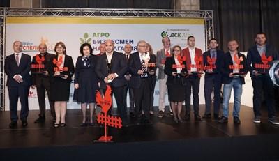 """Вестник """"Български фермер"""" отличи заслужилите от сектора на ежегодния си конкурс СНИМКА: Десислава Кулелиева"""