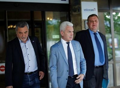 Симеонов харесал идеята на Каракачанов, но разговори предстоят, а Сидеров ще каже в събота. СНИМКА: АРХИВ
