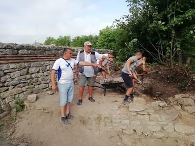 Разкопките показват, че Мисионис край Търговище е бил град, а не крепост. СНИМКА: Архив
