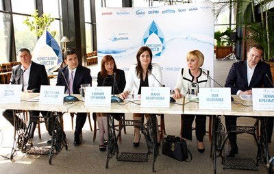 Омбудсманът Мая Манолова подкрепи инициативата. СНИМКА: Десислава Кулелиева