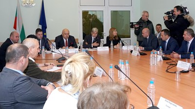 """В министерството на околната среда и водите се проведе кръгла маса за """"Ски зона в Банско"""" СНИМКА: Десислава Кулелиева"""