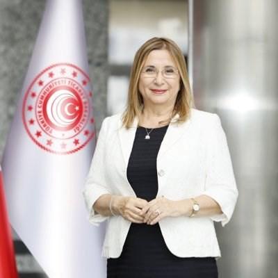 Турският министър на търговията Рухсар Пекджан СНИМКА: туитър/pekcan