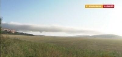 Пожарът в депото в село Шишманци е напълно потушен