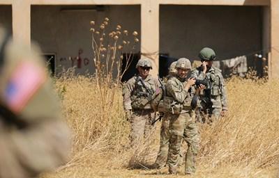 Американски и турски войници в Сирия Снимка: Ройтерс