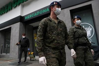 Испания отбеляза спад на смъртните случаи за 4-и пореден ден. СНИМКА: РОЙТЕРС