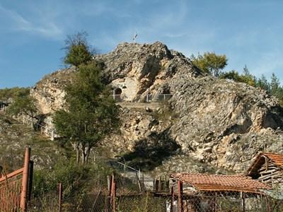 """Храм """"Света Петка"""" в Трън Снимка: Уикипедия"""