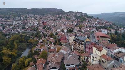 Обхватът на проекта е в центъра и старата част СНИМКА: Община Велико Търново