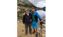 На 300 м денивелация: Асен Тренчев - един от най-възрастните ветерани скиори в България