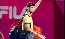 Григор аут от топ 70 на света. Шеги на негов гръб: Защо Димитров играе тенис в последно време? За да ни забавлява