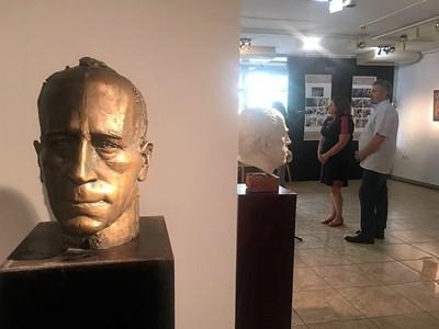 """Европейските дни на наследството бяха открити с изложбата """"Творчески щрихи"""", посветена на 100-годишнината от рождението на писателя Николай Хайтов. Снимки министерство на културата"""